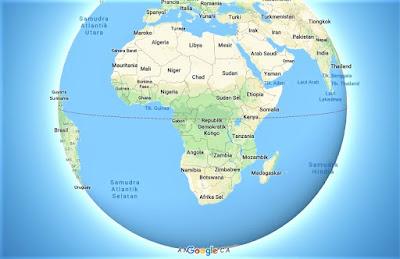 Peta Benua Afrika Google Maps