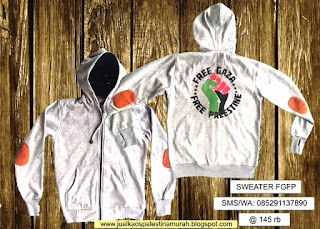Distributor Sweater Palestina Murah