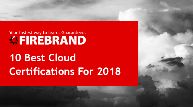 10 Best Cloud Certifications 2018 header image