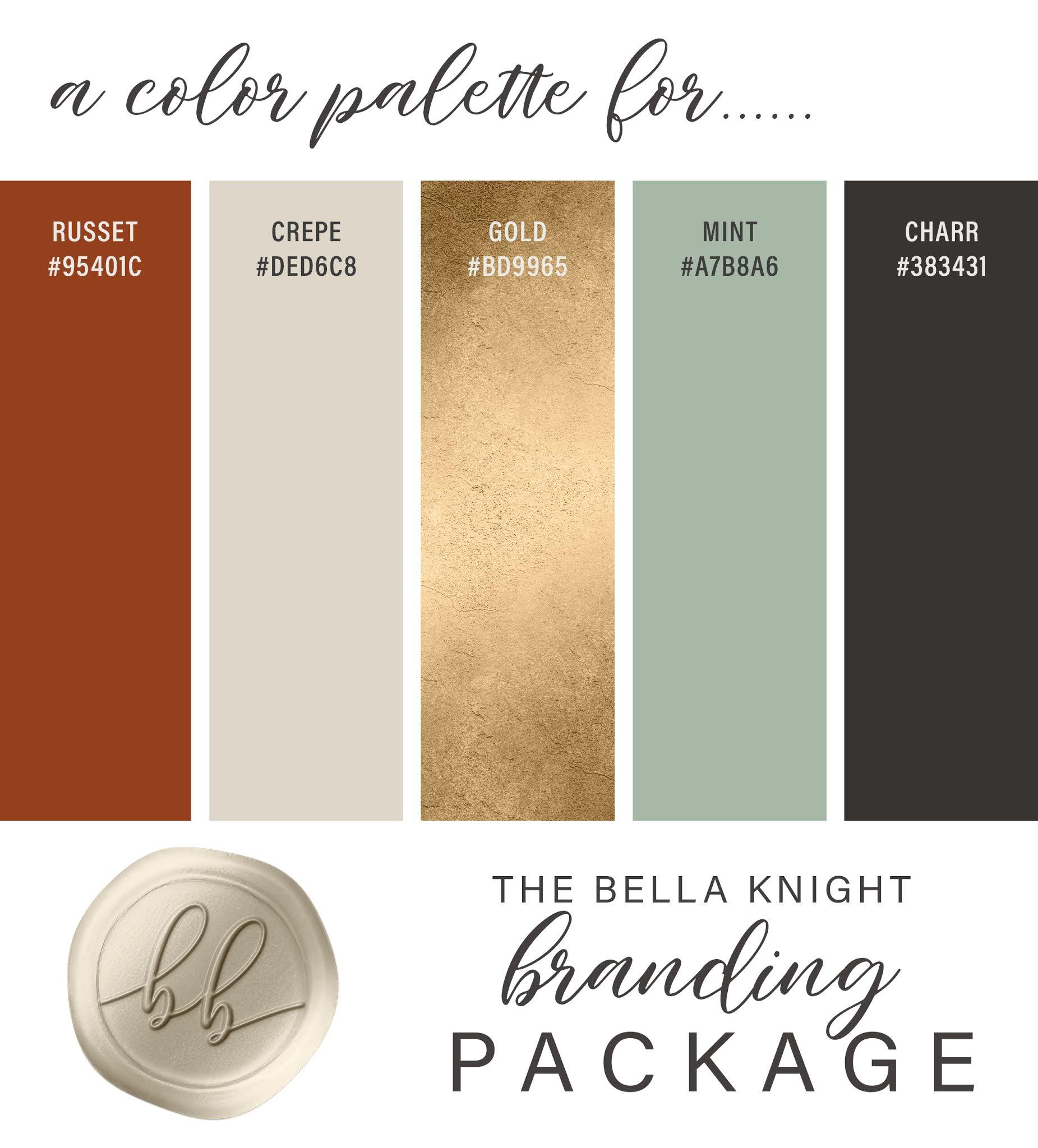The Bella Knight Custom Branding Collection