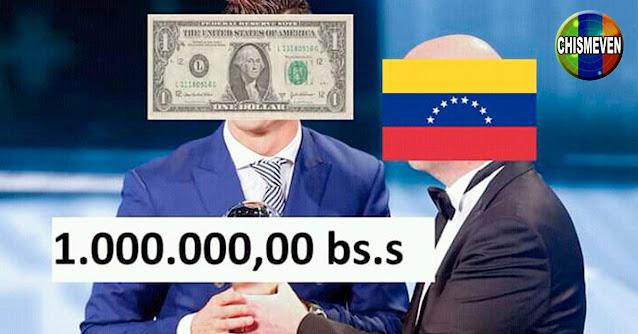 El Dólar a un paso de romper la barrera del Millón de bolívares