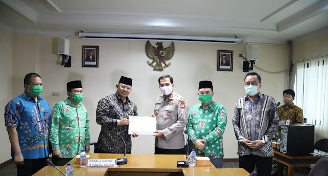 AKBP Jajang Hasan Basri, S.AG, M.SI Terima Penghargaan Dari Kemenag DKI Jakarta