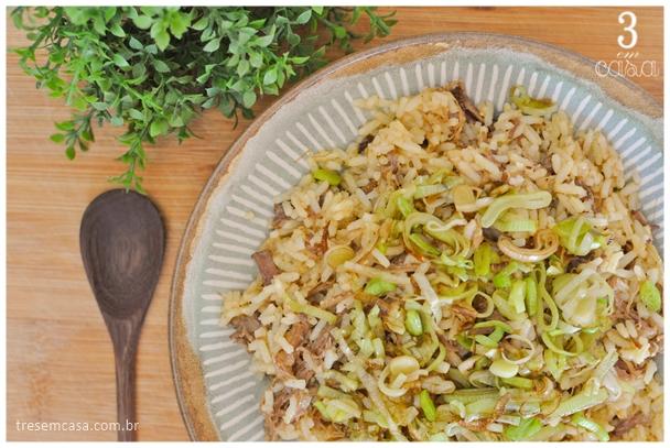 arroz de costela receita