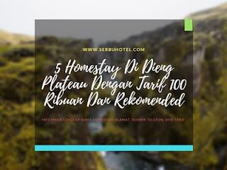 5 Homestay Di Dieng Plateau Dengan Tarif 100 Ribuan Dan Rekomended