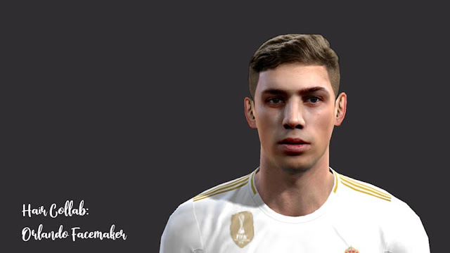 Federico Valverde Face (Real Madrid) PES 2013