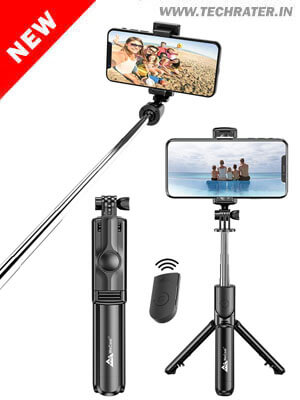 3-in-1 Multifunctional Selfie Stick with Tripod