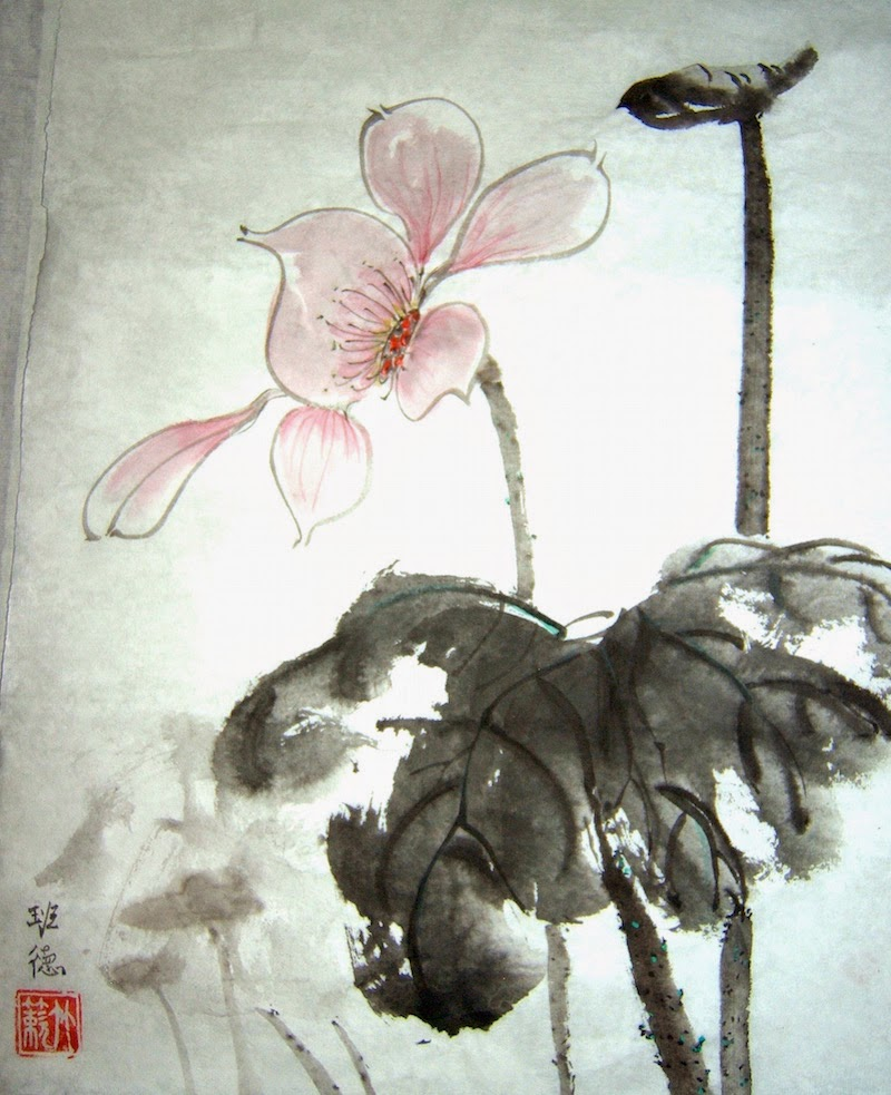 Concord Art Association Chinese Brush Painting With Barbara Stumph