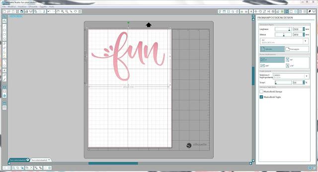 Come utilizzare singoli file .png nella modalità Print & Cut | Silhouette Cameo step3