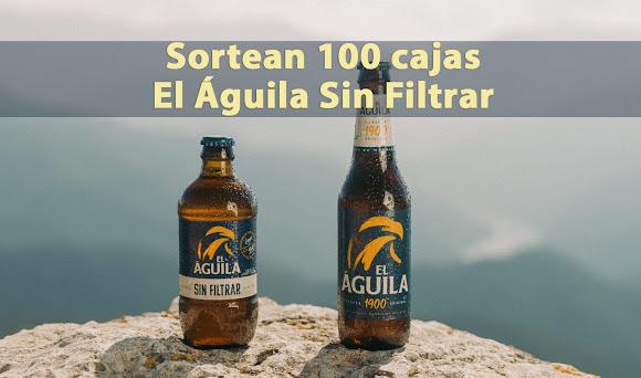 sorteo cerveza El Águila sin Filtrar