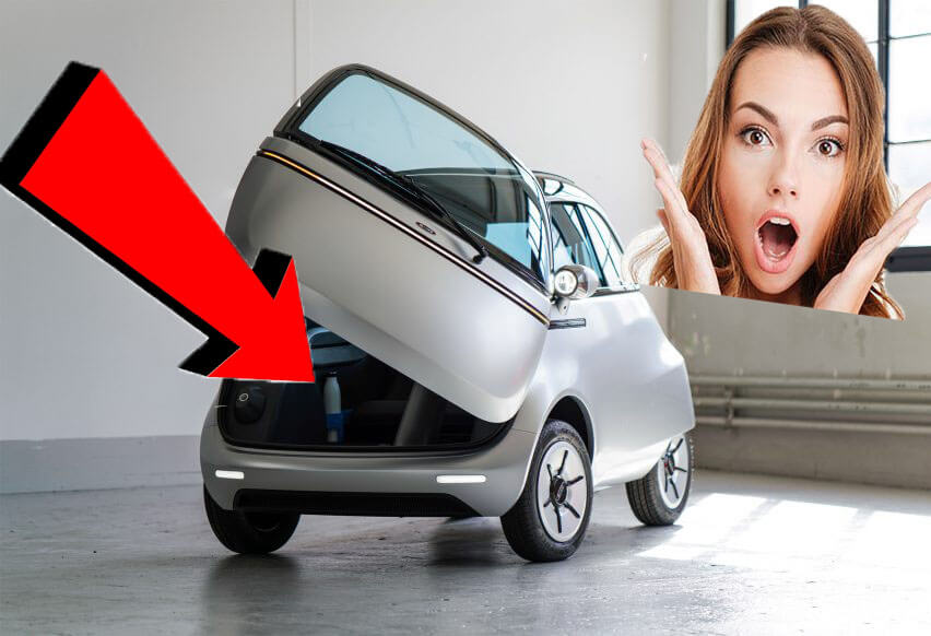 Microlino, future competitor of the Citroën