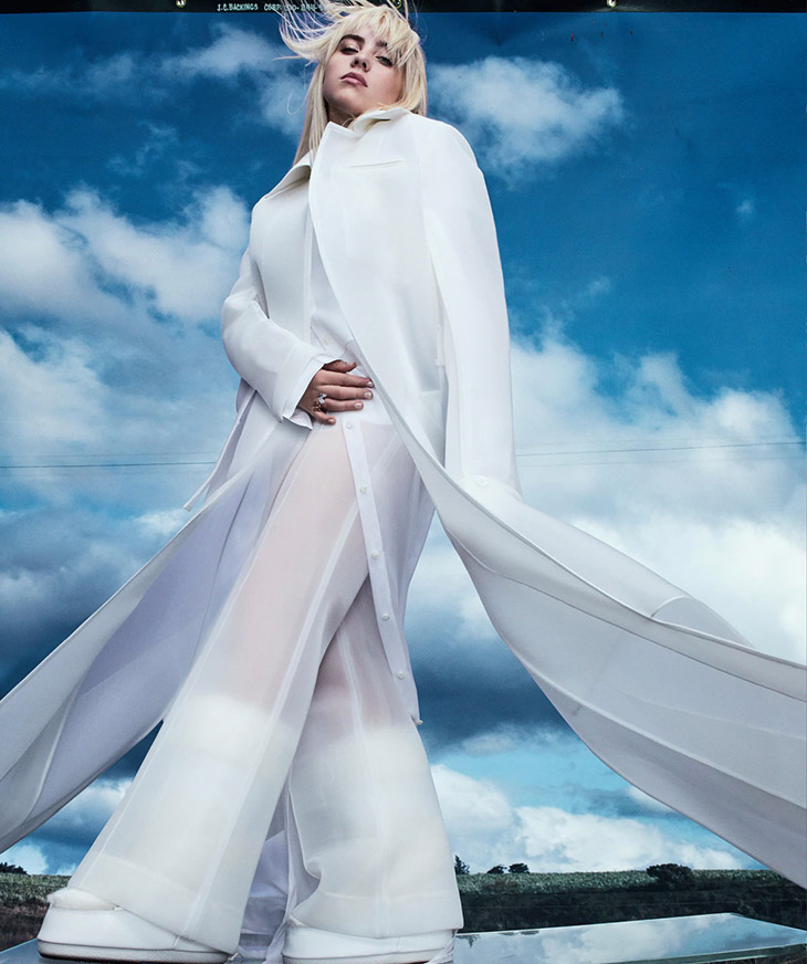 Photographer Emma Summerton and musician Billie Eilish team up for Australian Vogue Magazine