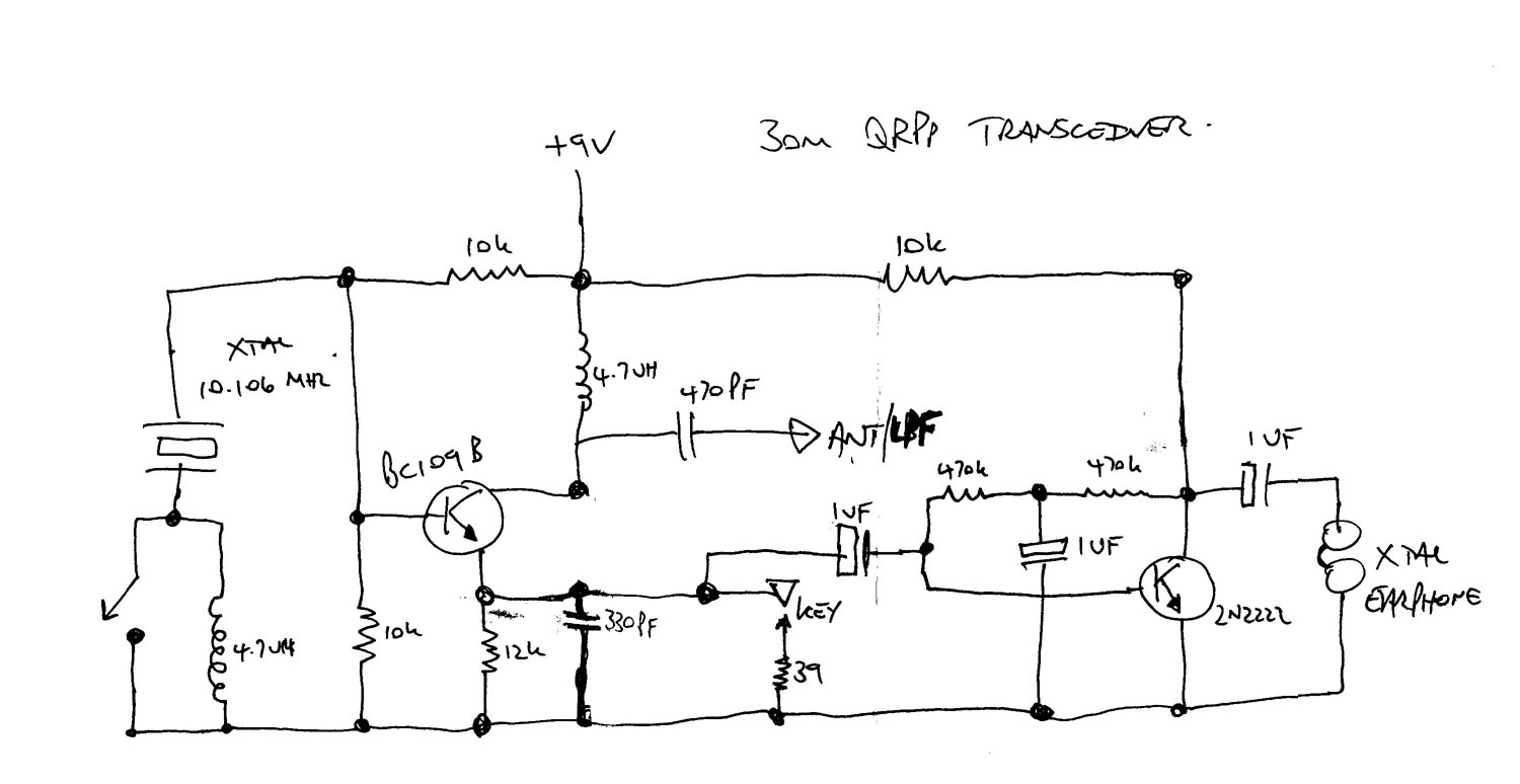 On4aij Juni 2011 Qrp Transmitter Circuits Electrical Blog Circuit As Well Battery Monitor Diagram Furthermore Electric