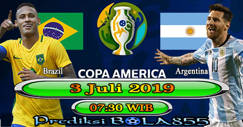 Prediksi Bola855 Brazil vs Argentina 3 Juli 2019