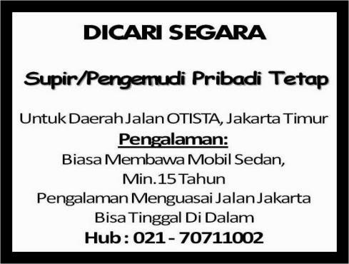 Lowongan Supir Pribadi Jakarta 2013 Sewa Rental Mobil Depok 081808586226 081212406465 Supir Pengemudi Pribadi Tetap 990 X 1344 130 Kb Jpeg Lowongan Supir