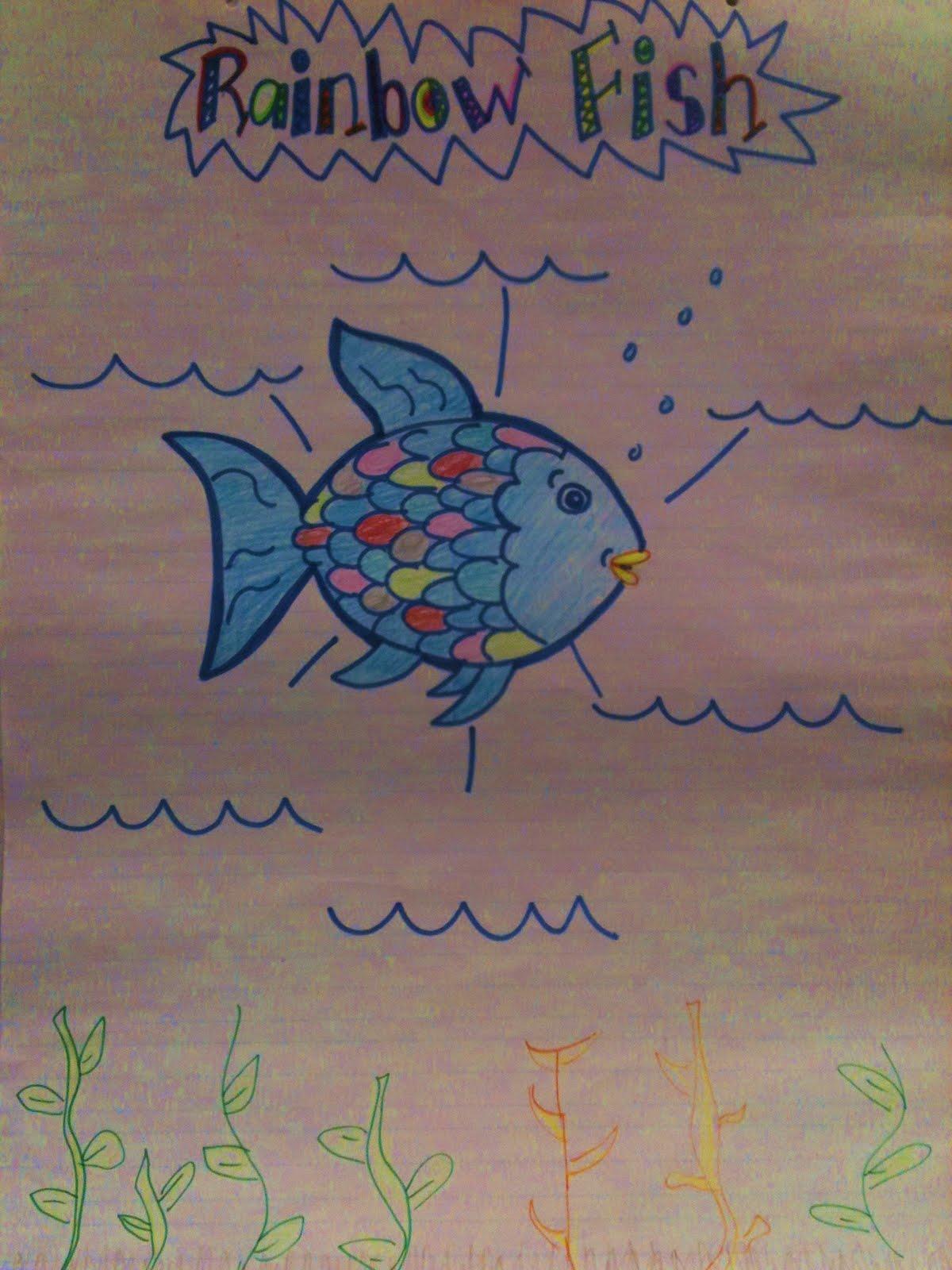 Kreative In Kinder Rainbow Fish