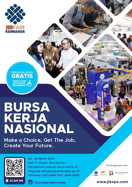 Bursa Kerja Nasional KEMNAKER 2019