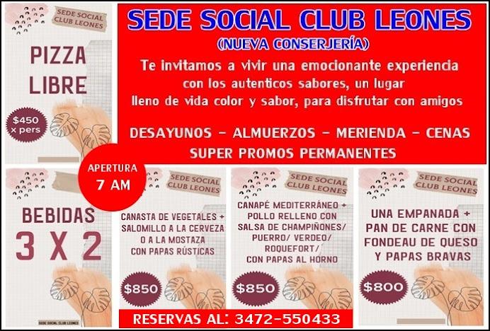 ESPACIO PUBLICITARIO: SEDE SOCIAL CLUB LEONES