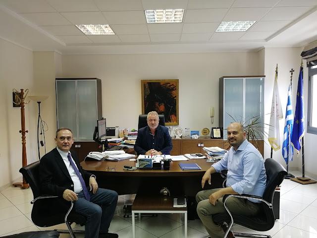 Δήμαρχος Ηγουμενίτσας: Συνάντηση Για Την Μ.Ε.Α Ηπείρου