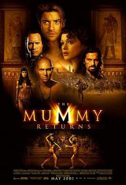 rekomendasi film, the mummy returns