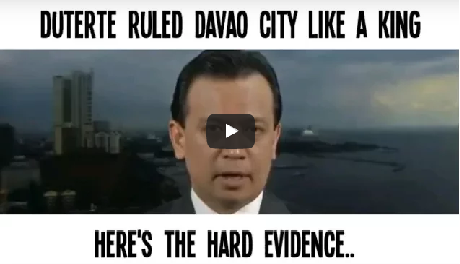 2rPJu8s Sen. Trillanes - DUTERTE RULED DAVAO CITY LIKE A KING! Panoorin!