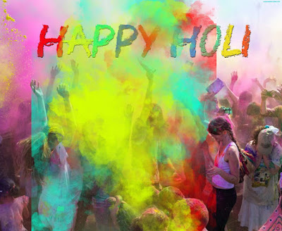 Holi background 2021