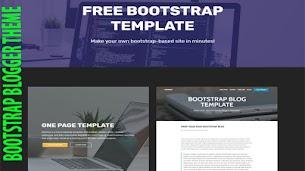 Bootstrap Responsive Blogger Theme - Responsive Blogger Template