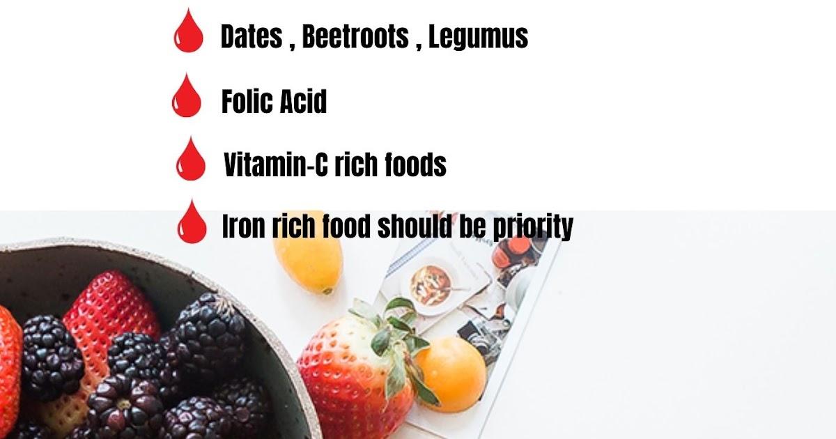 Foods to Increase Haemoglobin