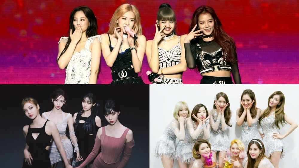 List of The Most Popular K-Pop Girl Groups in October 2021
