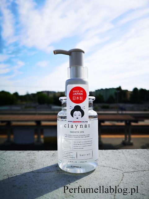claynal olejek do włosów smooth spa