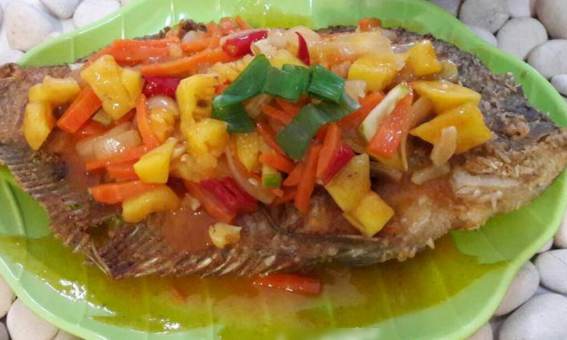 Resep Masakan Ikan Gurameh Saus Nanas
