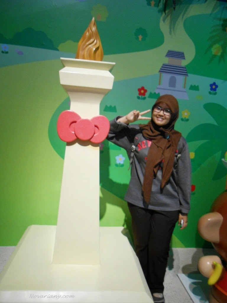 Sensasi Berpetualang Di Dunia Hello Kitty Novarianys World