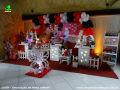 Tema Minnie Mouse para decoração de festa de aniversário infantil de meninas - mesa temática infantil para festa de meninas