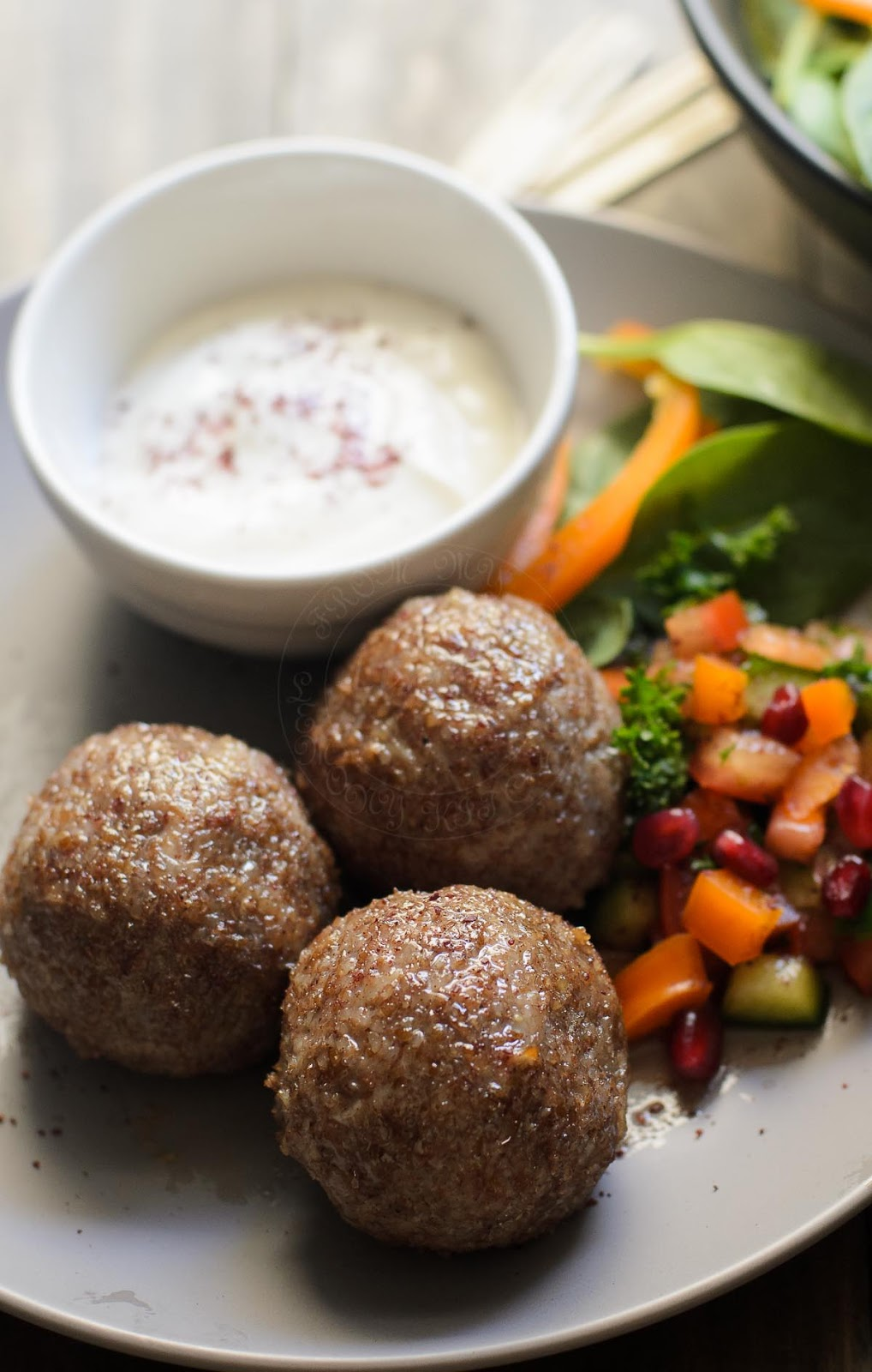 Mince chicken Kibbeh recipe