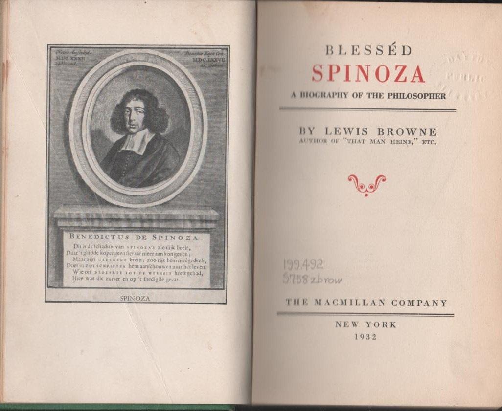 het theologisch politiek traktaat van spinoza biography