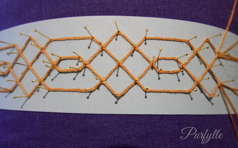 Le Pompe Lace 16thC lace renaissance bobbin lace