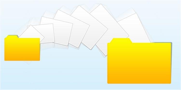 copiar o mover archivos y carpetas