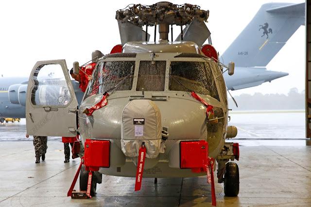 Lockheed Martin/Sikorsky MH-60R Seawahk at Hangar