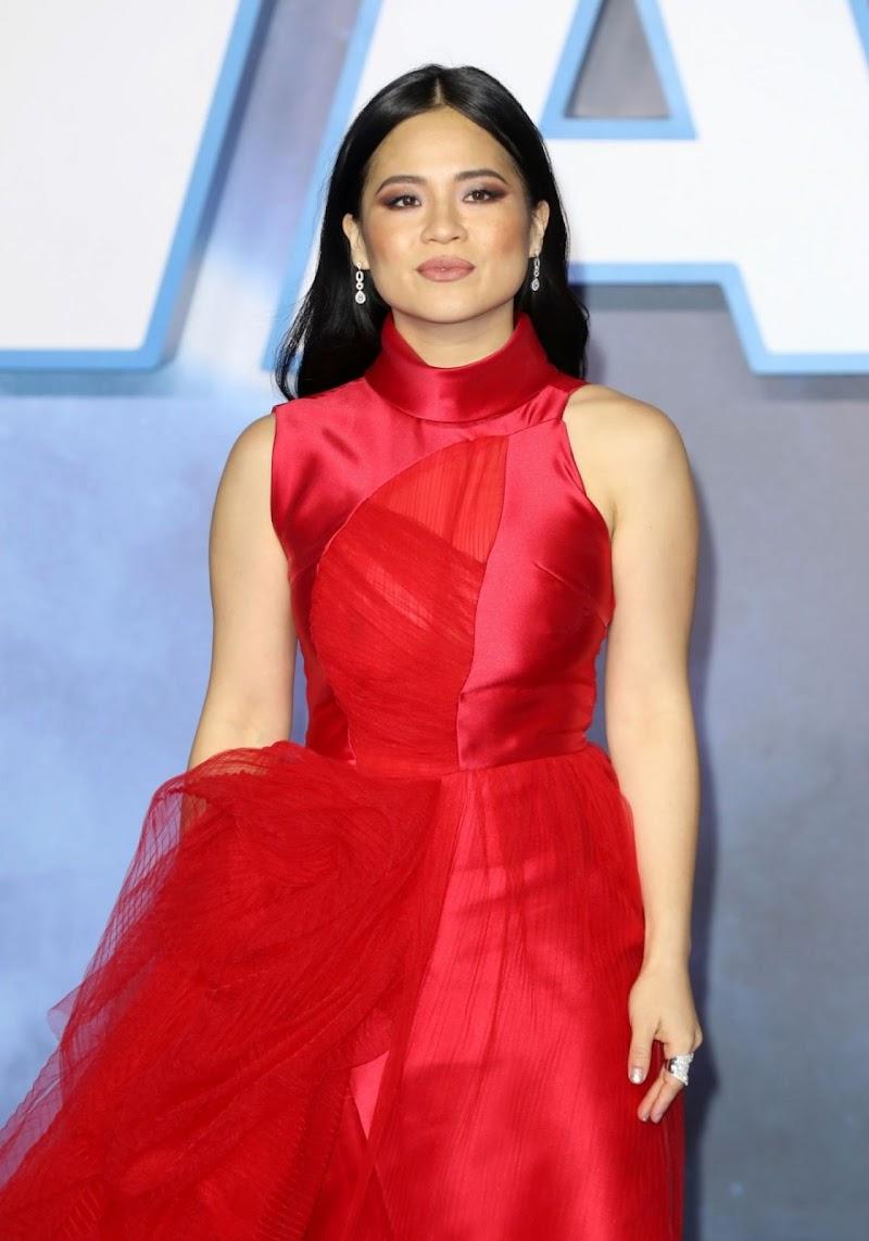 Kelly Marie Tran Clicks at Star Wars: The Rise of Skywalker Premiere in London 18 Dec-2019