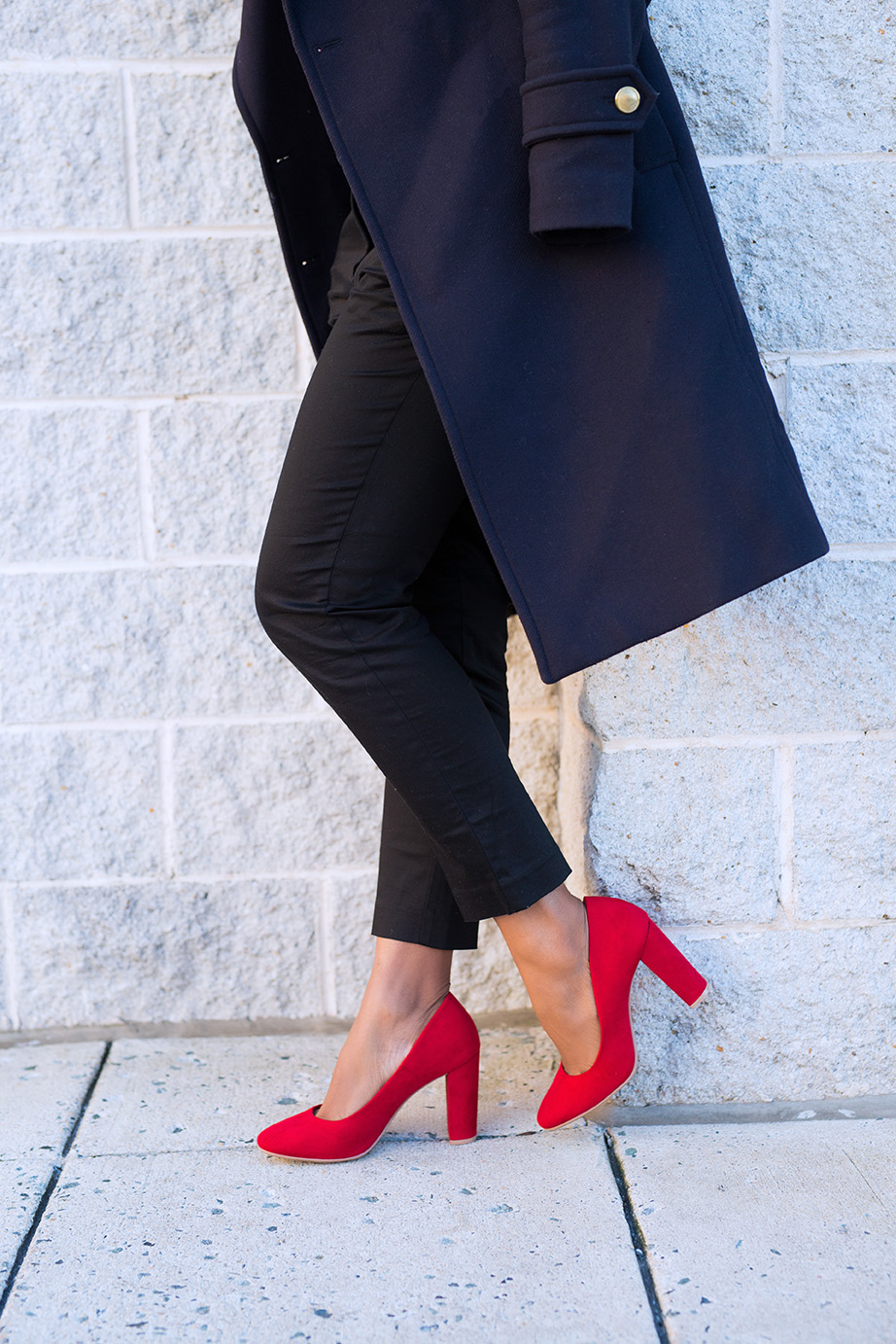 payless red block heels, www.jadore-fashion.com