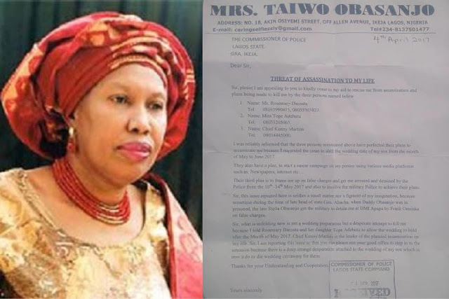 My daughter-in-law and my twin brother are planning to kill me over my son's wedding-Taiwo Obasanjo