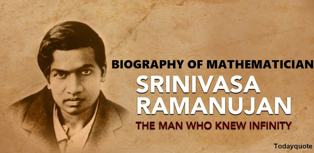Srinivasan Ramanujan Biography
