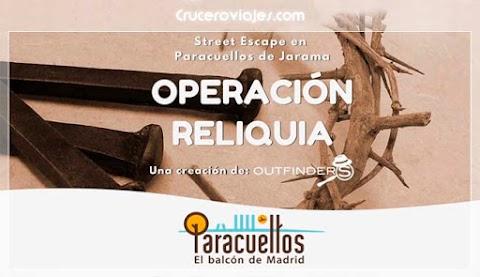 Outfinders lanza su Street Escape 'Operación Reliquia' en Paracuellos de Jarama