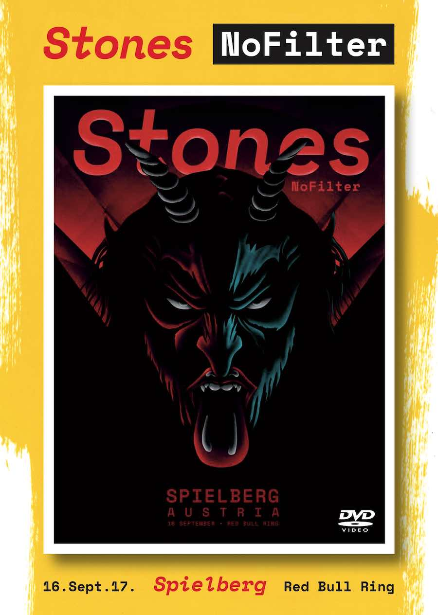 bootleg addiction: Rolling Stones: Red Bull Ring, Spielberg