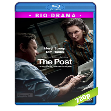 The Post Los Oscuros Secretos Del Pentagono (2017) BRRip 720p Audio Trial Latino-Castellano-Ingles 5.1