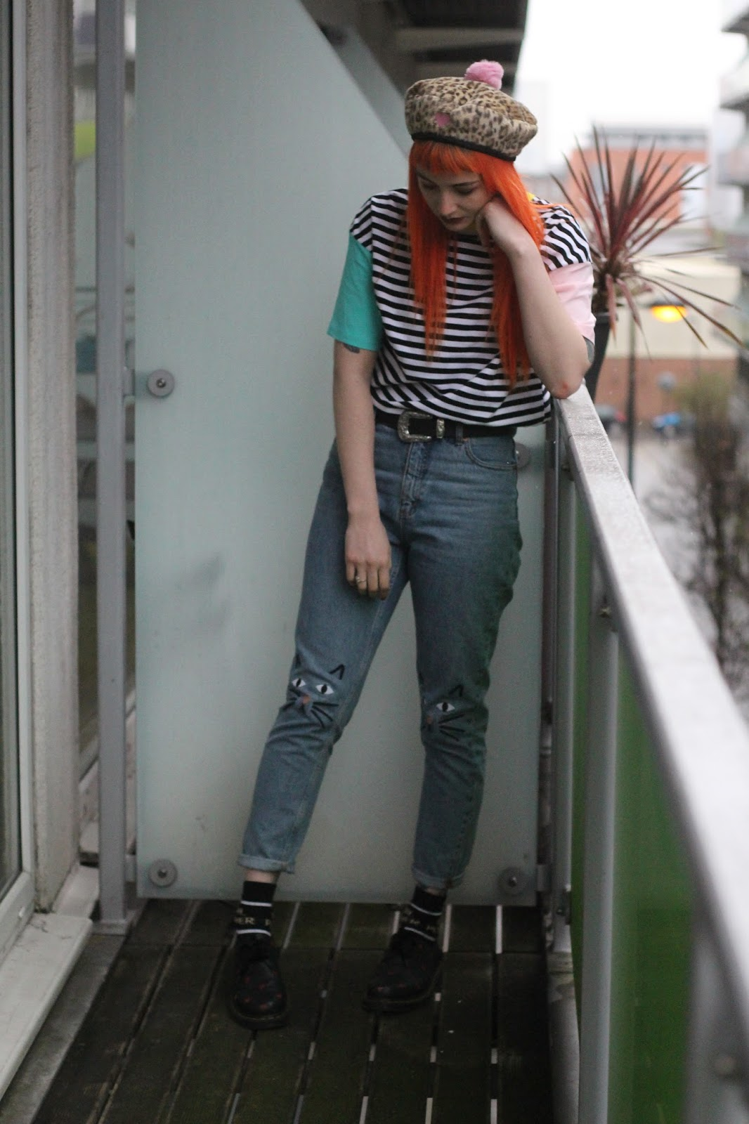 Alternative Fashion Blogger Foxxtailz in Romwe