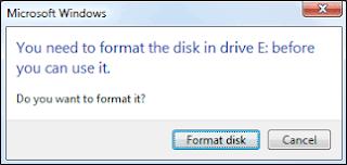 Cara Mengatasi Flashdisk Yang Minta Format Saat Dipasang Cara Mengatasi Flashdisk Yang Minta Format Saat Dipasang