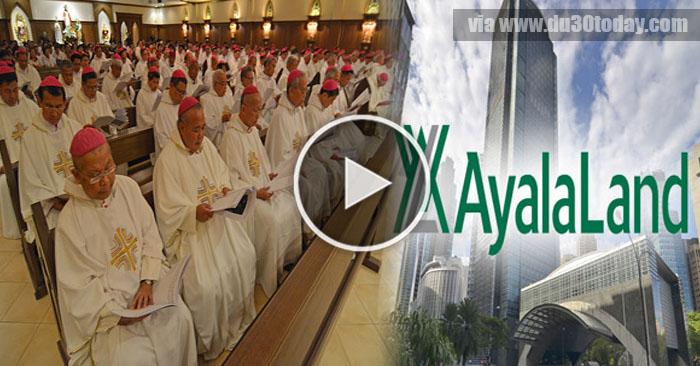 WATCH: May Inililihim Na Yaman Sa ilalim ng Ayala Corp Simbahang Katoliko!