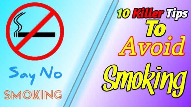 10 Killer Tips To Avoid Smoking Habits (Bangladesh)