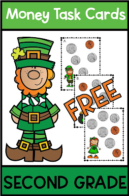 St. Patrick's Day Math FREEBIE