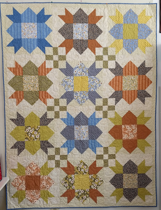 Corner Store Quilt designed by Pat Sloan